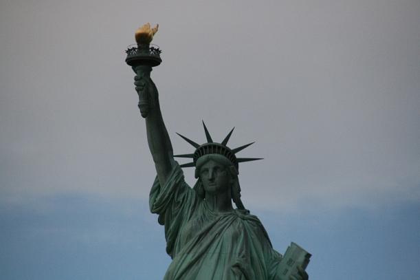 A Szabadságszobor, New York jelképe
