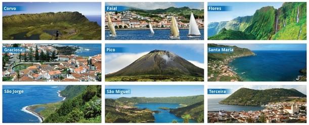 A szigetek lakossága 400 és  140,000 fő között változik