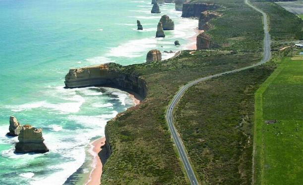 Ausztrália partvidéke csodálatos