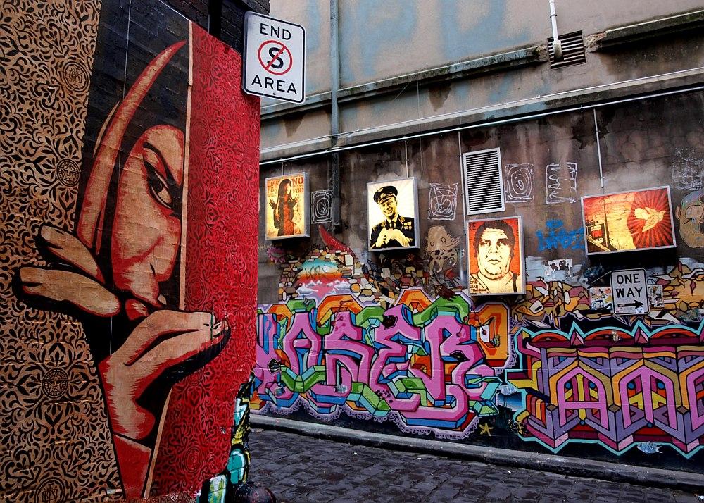 A város felhozatala street artban is erős