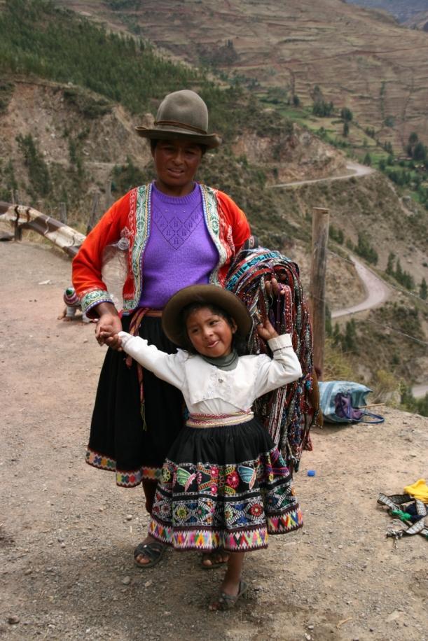 Anya gyerekkel - itt még nem kínai szuvenírt árulnak