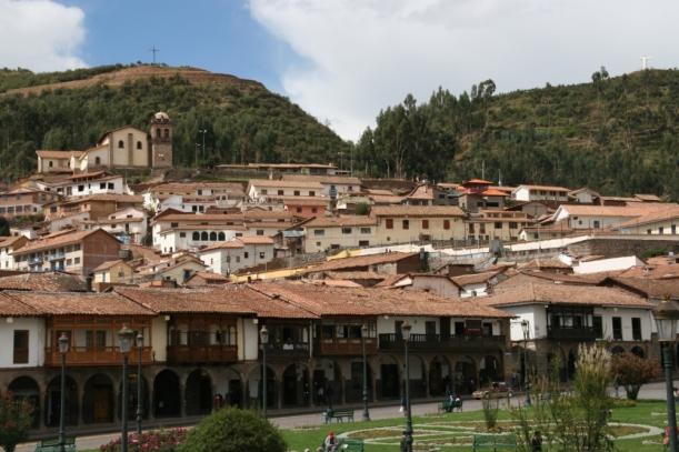 Cuzco főtere