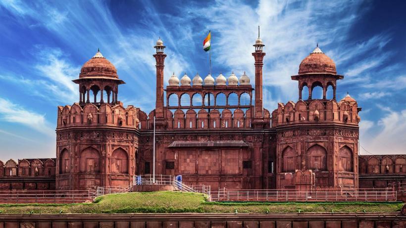 Red Fort - Vörös Erőd, Delhi