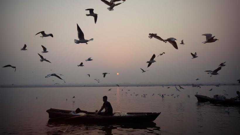 Gangesz, India szent folyója