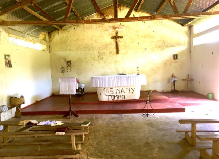 madagszkar templom